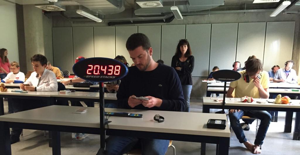 Speed Cards-Weltrekord von Simon Reinhard